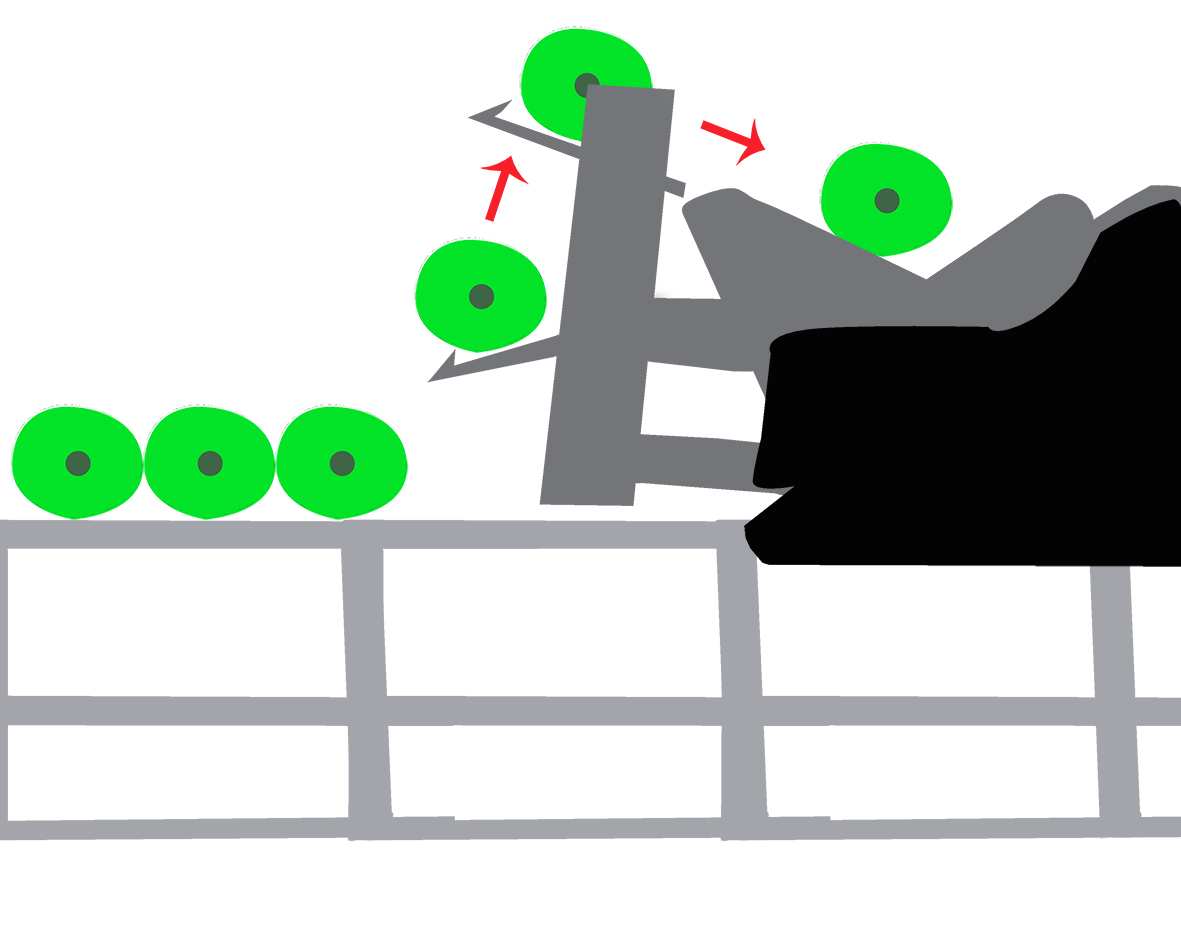 ROLL LOADER FROM TABLE DIAGRAM